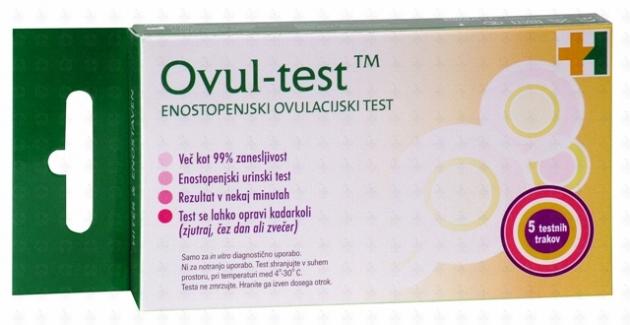 ovul-test-slika