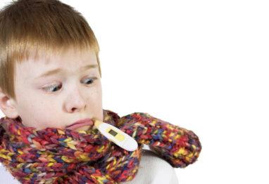 Gripa otroci