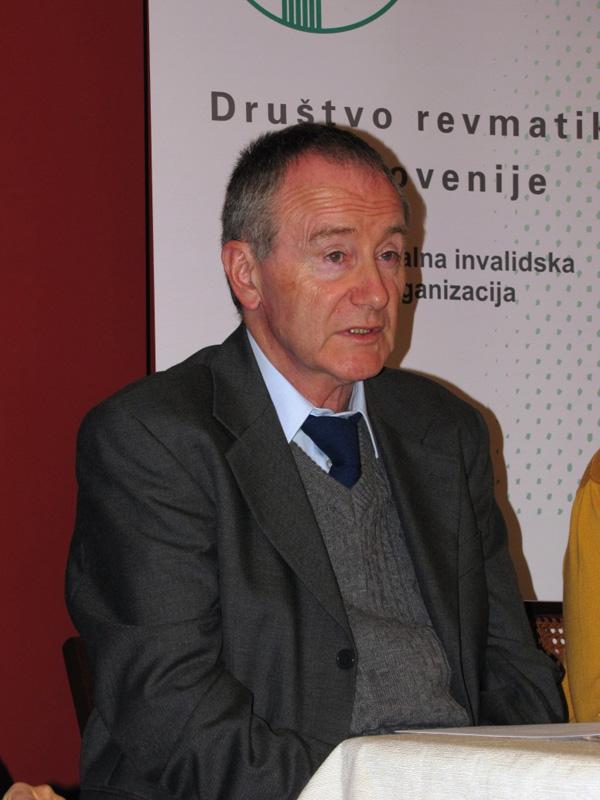Andrej Gregor - predsednik Društva revmatikov Slovenije