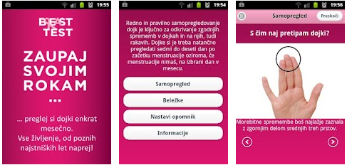 Breast test app