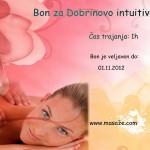 Bon za masažo