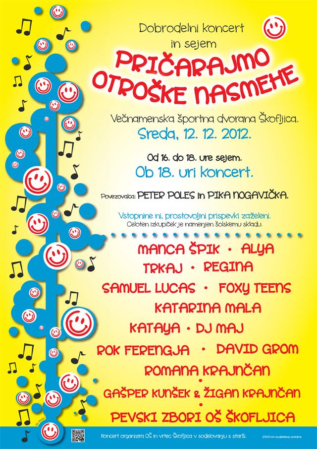 koncert oš Škofljica