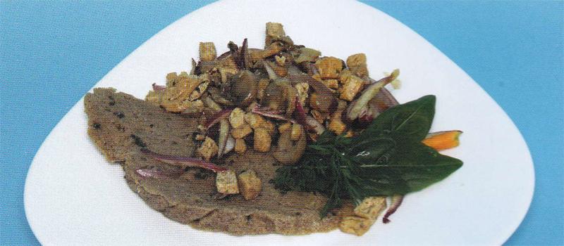 ocvirki - prekajen tofu