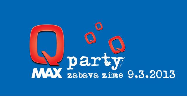 Logo Q Max Party; Vir: Arhiv LTO Kranjska Gora