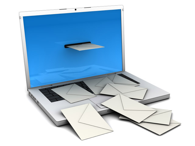 nezelena posta spam