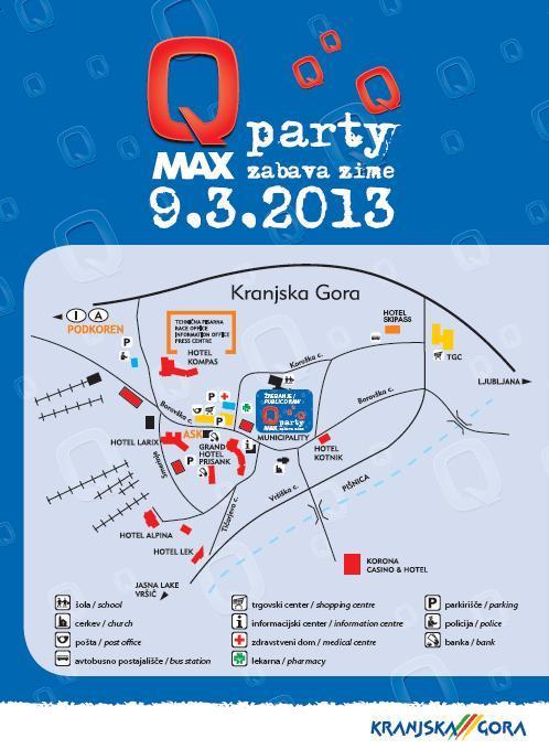 Zemljevid Q Max Party