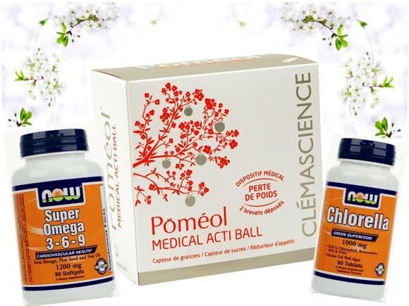 Pomeol-in-chlorella