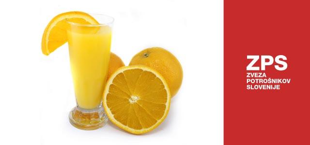 """To je zadnja ugotovitev Zveze potrošnikov Slovenije, ko so raziskovali odgovore na vprašanje """"Kaj se skriva za sliko pomaranče na pijačah v priročnem 2-decilitrskem pakiranju?""""."""