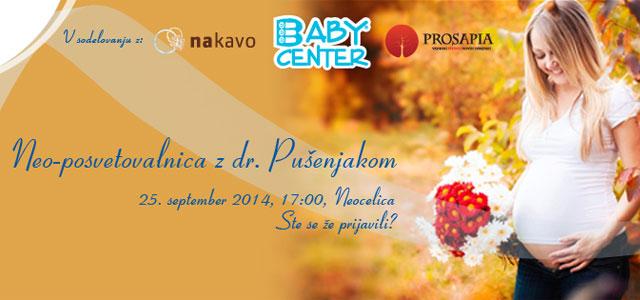O matičnih celicah bomo s strokovnjakom dr. Pušenjakom govorili v četrtek 25. septembra ob 17. uri v prostorih družbe Neocelica, v Ljubljani.
