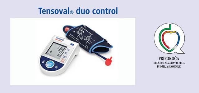 Sodelujte za nagradni igri s praktično nagrado, merilec krvnega tlaka Tensoval® duo control.