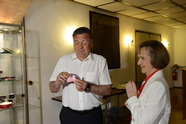 zupan Jankovic in Marija Vegelj Pirc