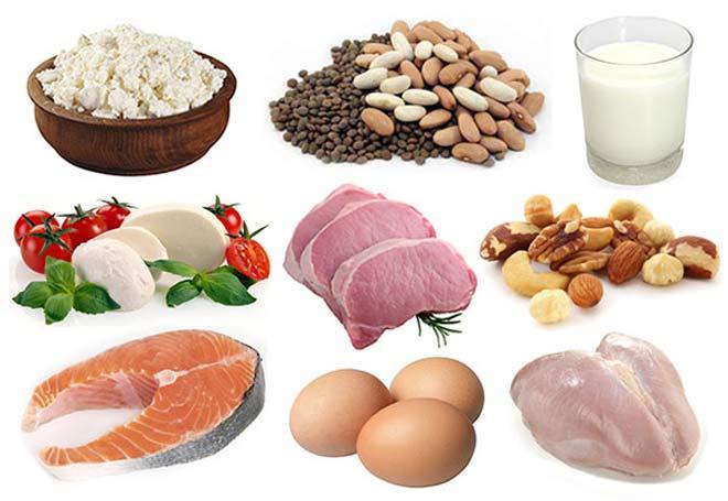 Proteinsko bogata prehrana.