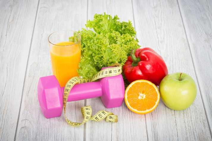 zdrava prehrana in vadba