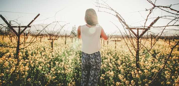 pomlad na travniku in s tem povezane alergije