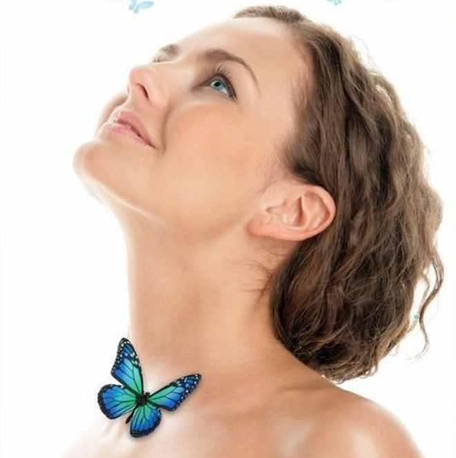 ščitnica metuljček