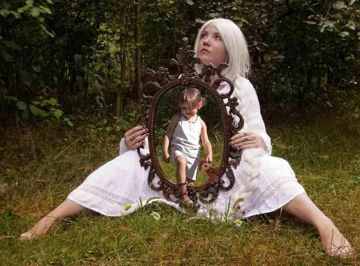 otrok vzgoja odsev