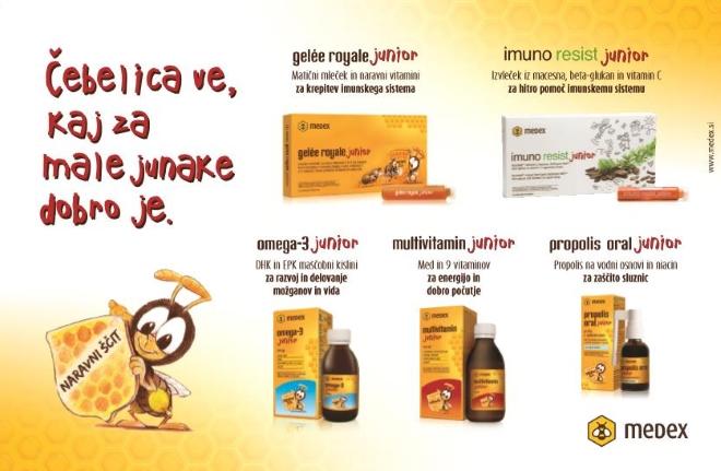 Medex Junior proizvodi