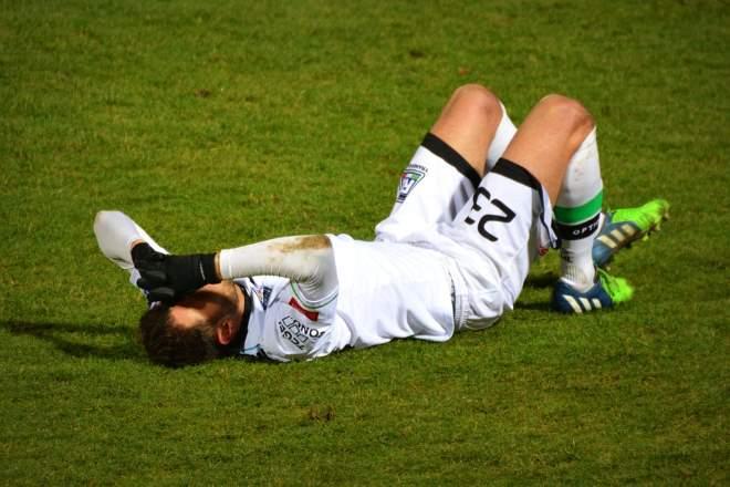 nogometna poškodba
