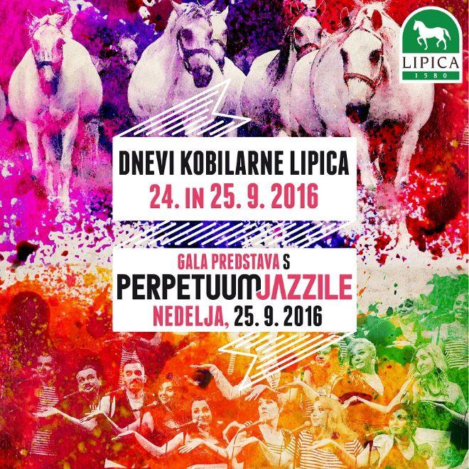 plakat Dnevi Kobilarne Lipica - 24. in 25. september 2016