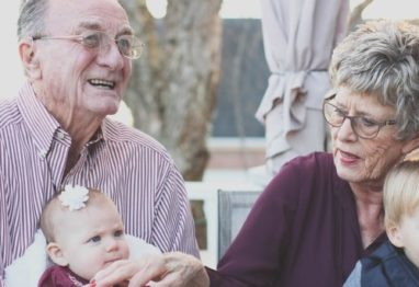 Starejši par