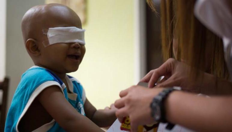 Stopnja preživetja otrok, obolelih za rakom v razvitih državah 80-odstotna, v državah v razvoju pa le 10-odstotna