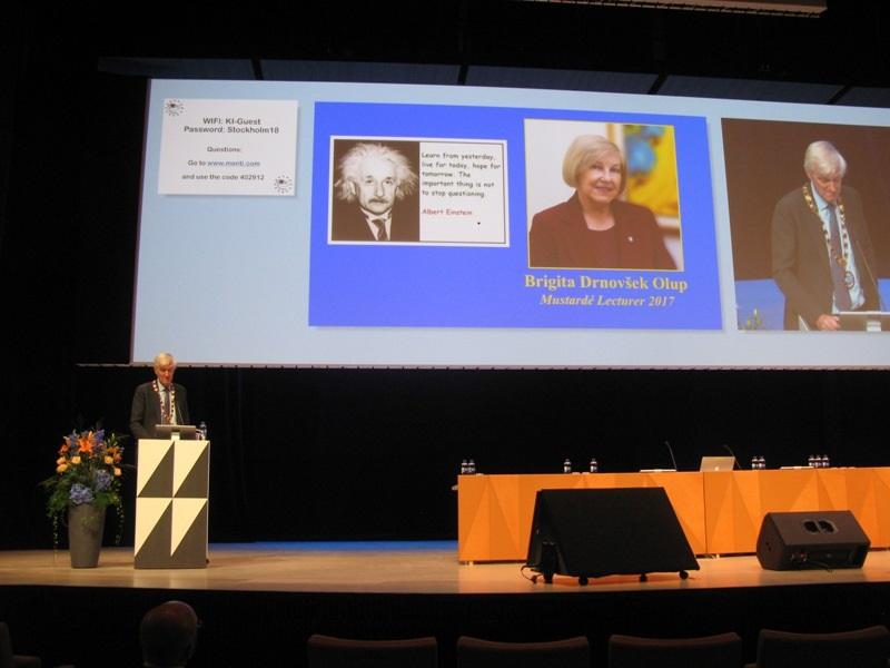 Prva ženska, dobitnica mednarodnega priznanja ESOPRS