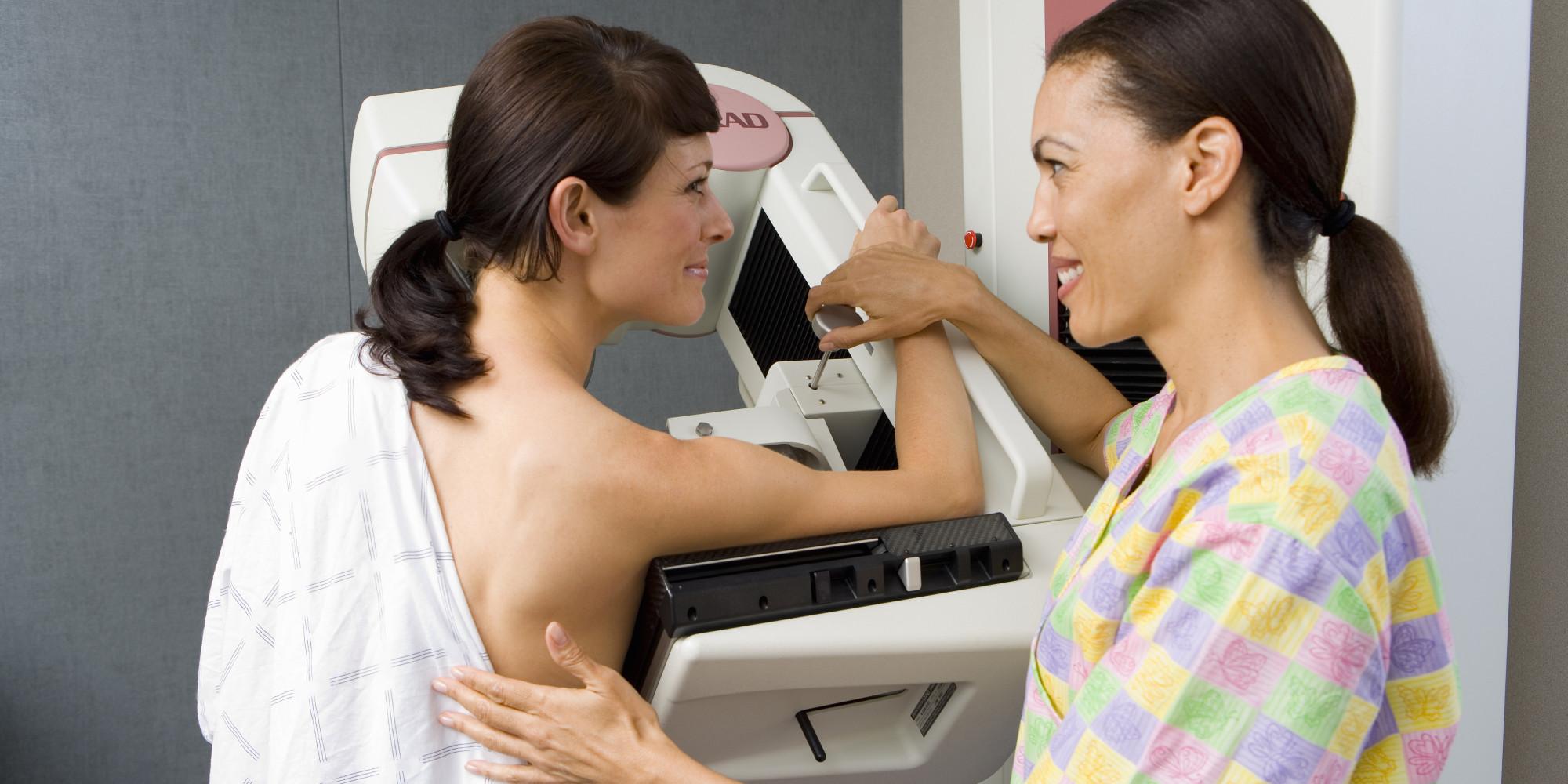 mamografija zena dojka pregled