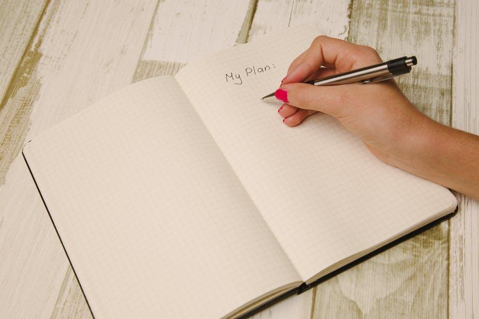 pisanje plan ruka