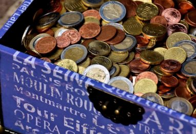 zbiranje motnja kovanci