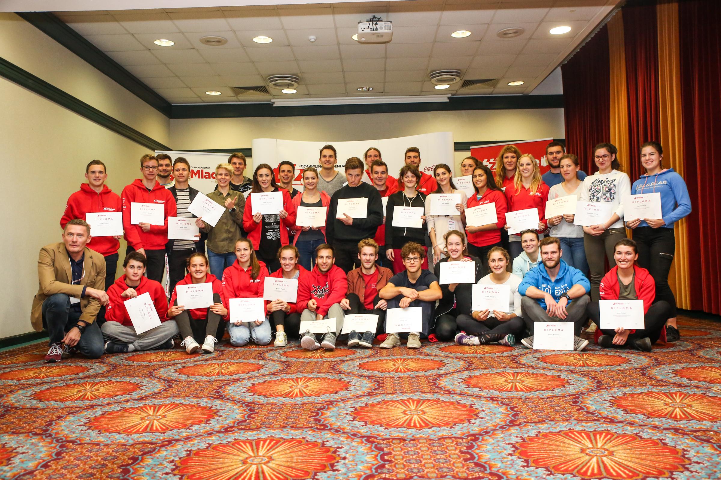 Akademija za mlade – podpora športnikom pri razvoju njihove dvojne kariere