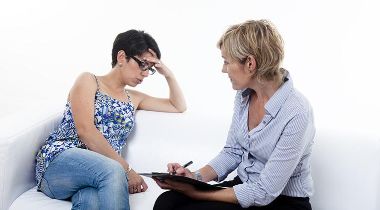 zena problem pomoc psiholog