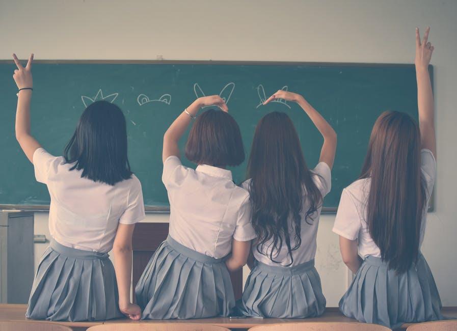 skola djevojka utjecaj