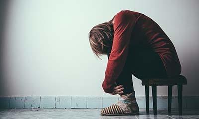 djevojka stolica problem depresija