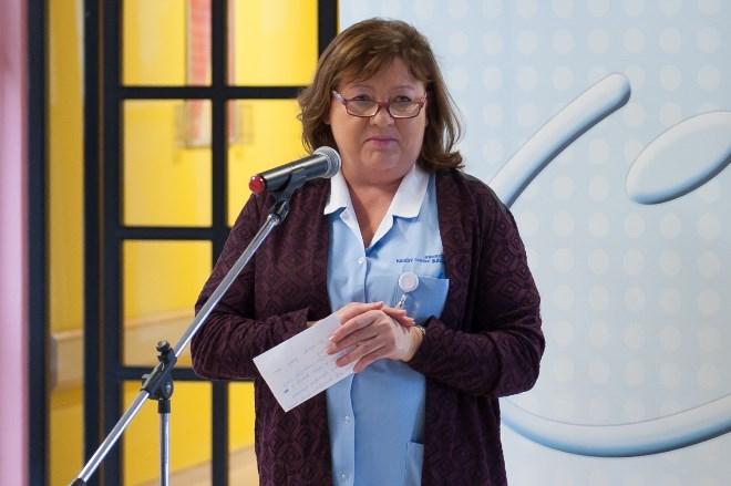 Milica Puklavec, dipl. m. s., glavna medicinska sestra Ginekološke klinike