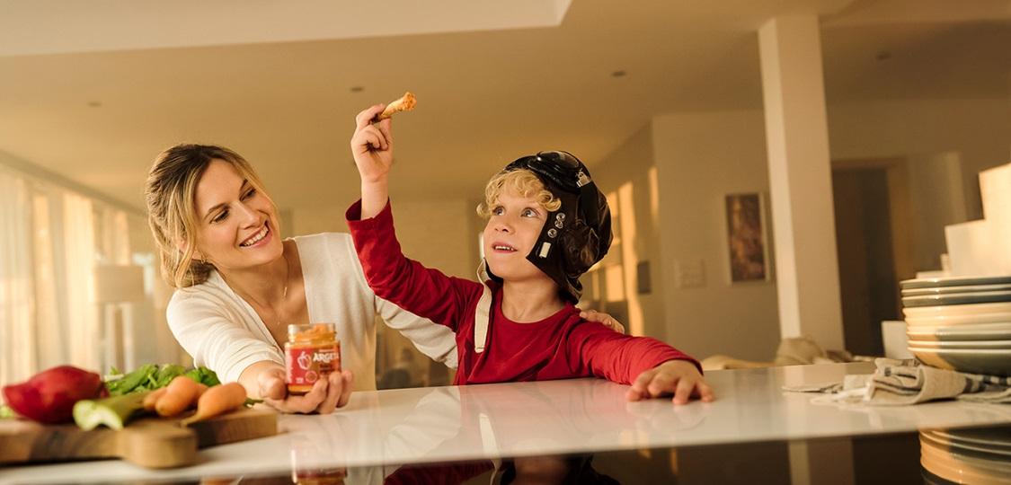 Kako malčka naučiti zdravih prehranjevalnih navad