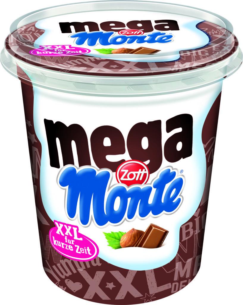 Mega Monte Zott mlečni izdelek sladica