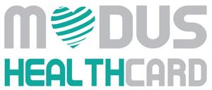 modus health card logo