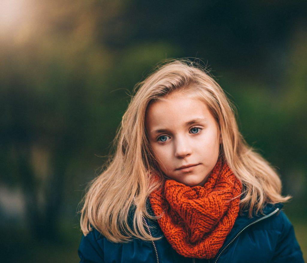 dijete zabrinutost potistenost tuga