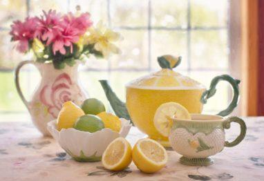 čaj limona odmor