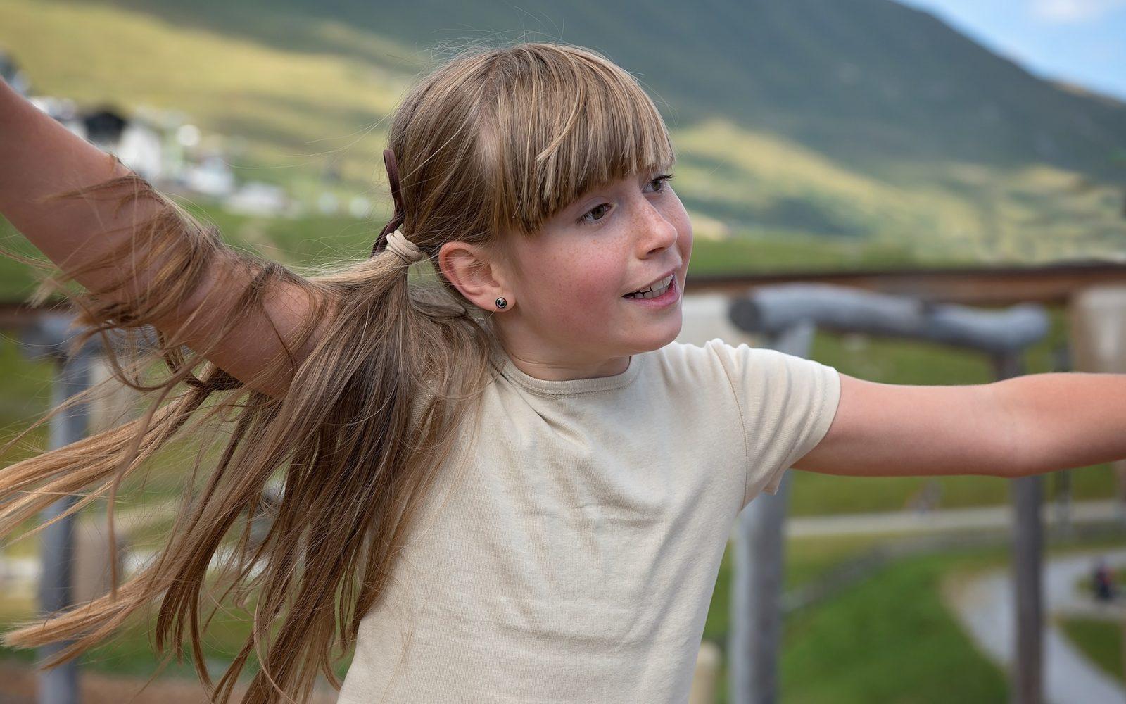 otrok hrbtenica gibanje