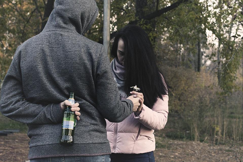 alkohol ovisnost veza ljubav svađa