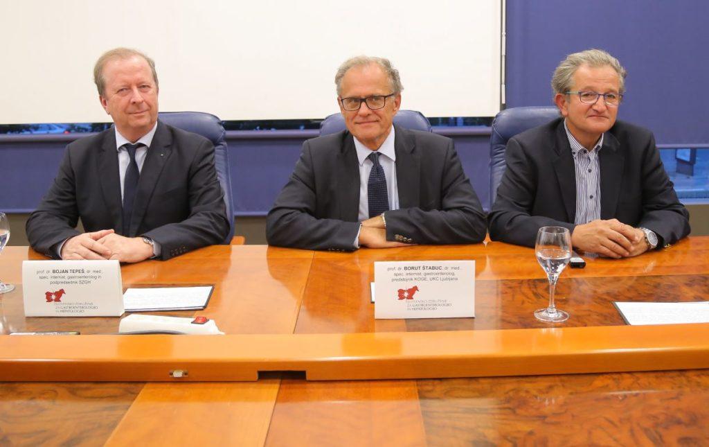 Bojan Tepeš, Borut Štabuc in Stojan Potrč predstavili preventivne ukrepe za preprečevanje raka na želodcu