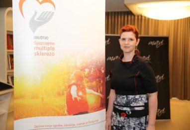 Renata Žontar Društvo življenje z multiplo sklerozo