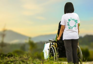 oskrba invalid starost možganska kap