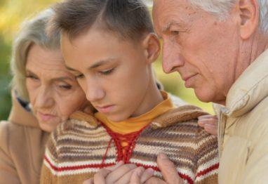 izguba zaradi samomora-podpora otrokom