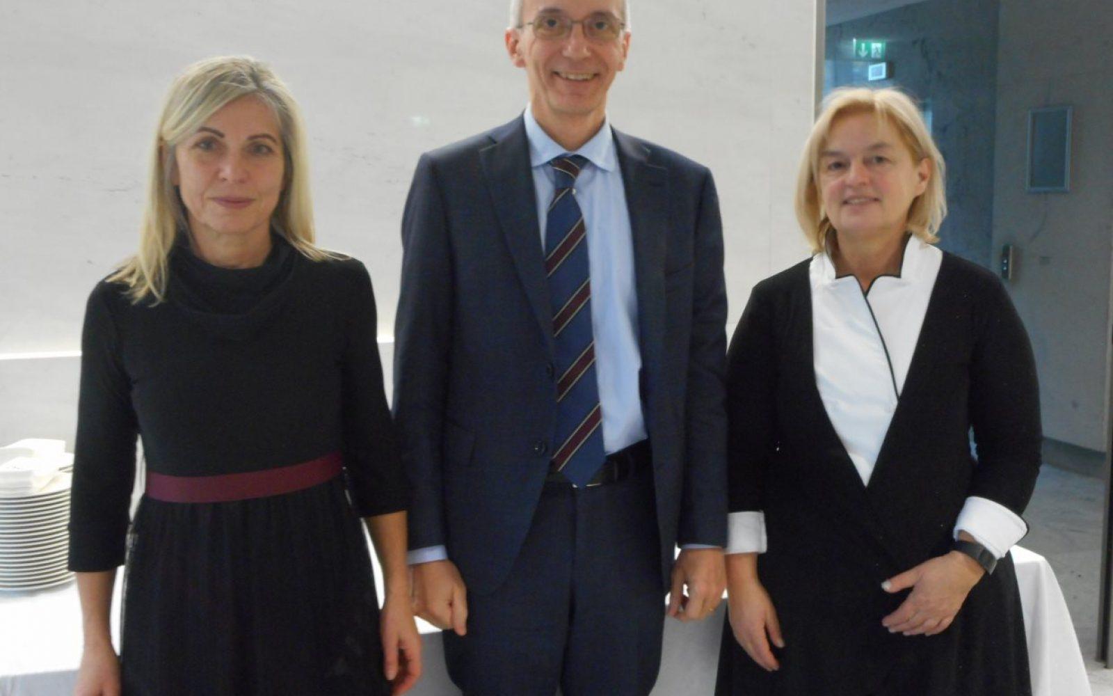 Nada Kozjek Rotovnik, Rocco Barazzoni in Milena Blaž Kovač