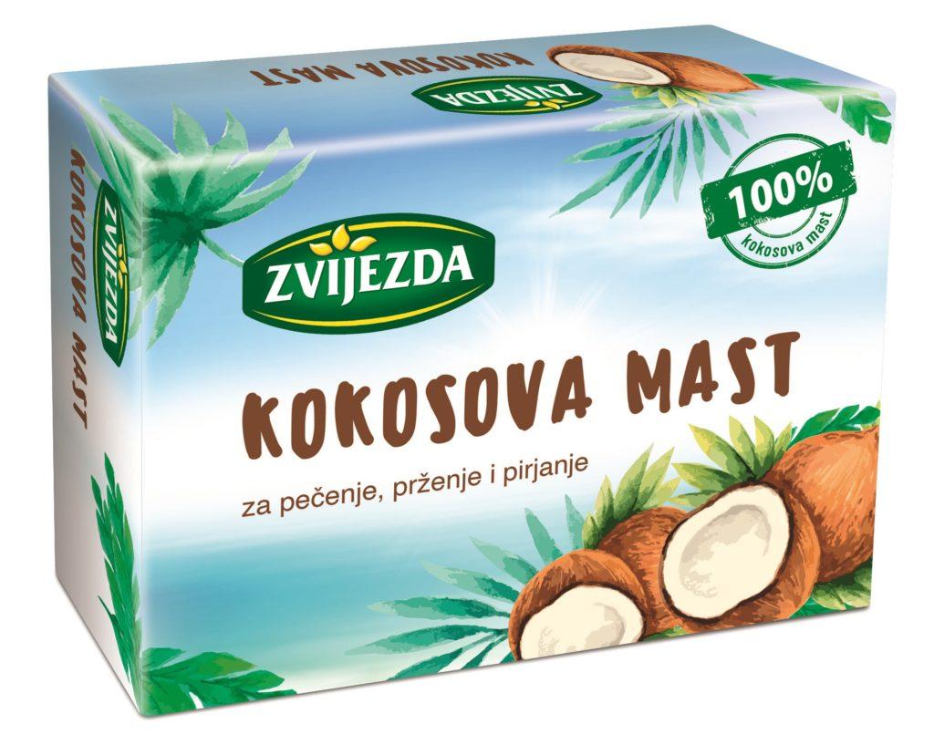 kokosova maščoba  Zvijezda