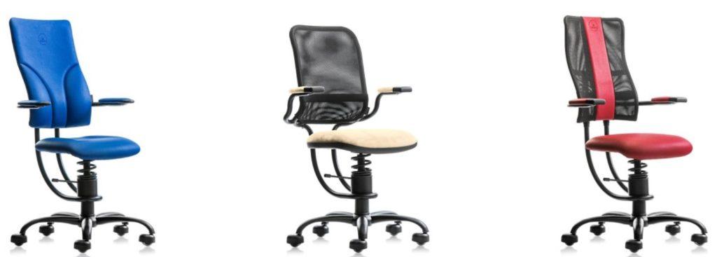 različni modeli stolov Spinalis