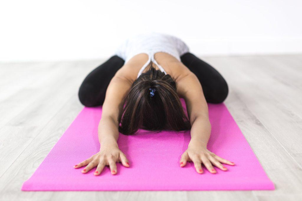 joga otrok gibanje telovadba