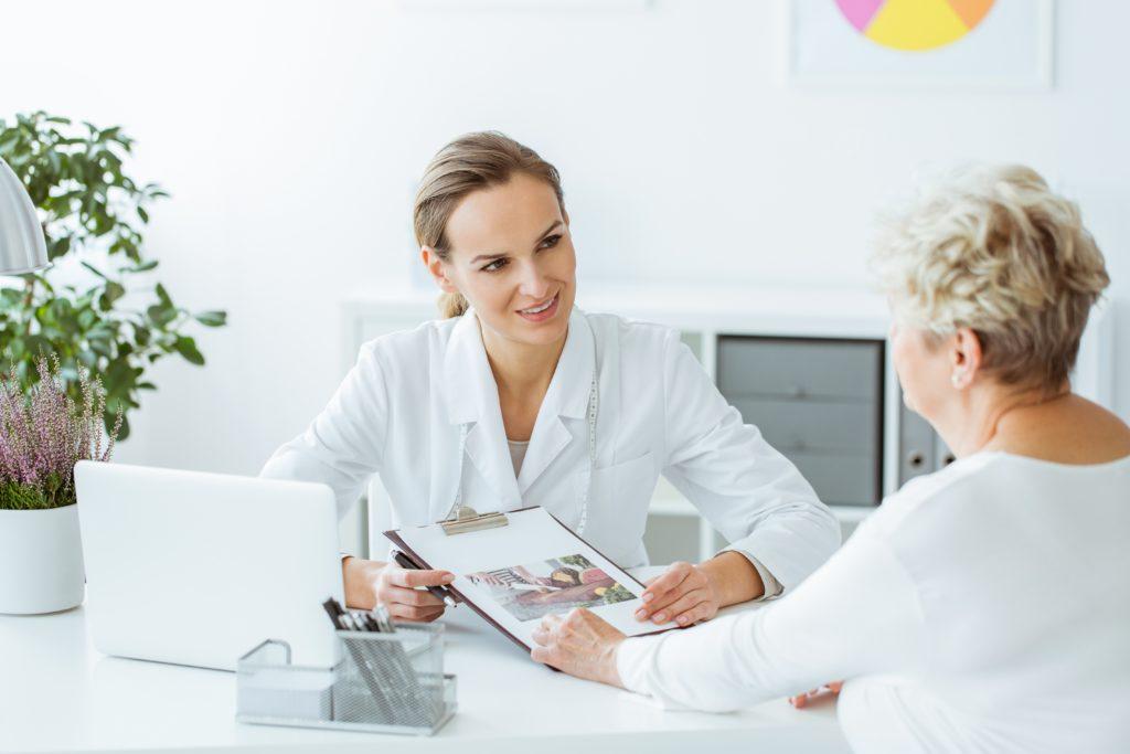 pogovor zdravnica pacientka